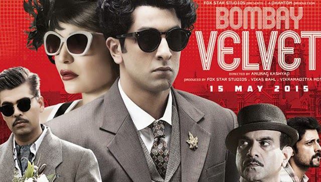 Box Office Collection of Bombay Velvet 2015 With Budget and Hit or Flop wiki, Ranbir Kapoor, Anushka Sharma bollywood movie Bombay Velvet latest update income, Profit, loss on MT WIKI