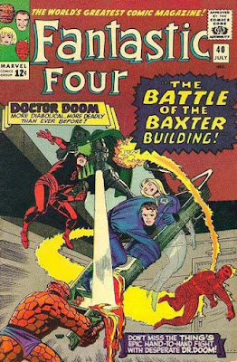 Fantastic Four #40. Daredevil and Dr Doom