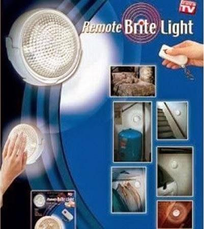 KATEGORI LAMPU UNIK (Mau Lihat Produk Lampu Lainnya, Klik di Foto ini) : REMOTE BRITE LIGHT