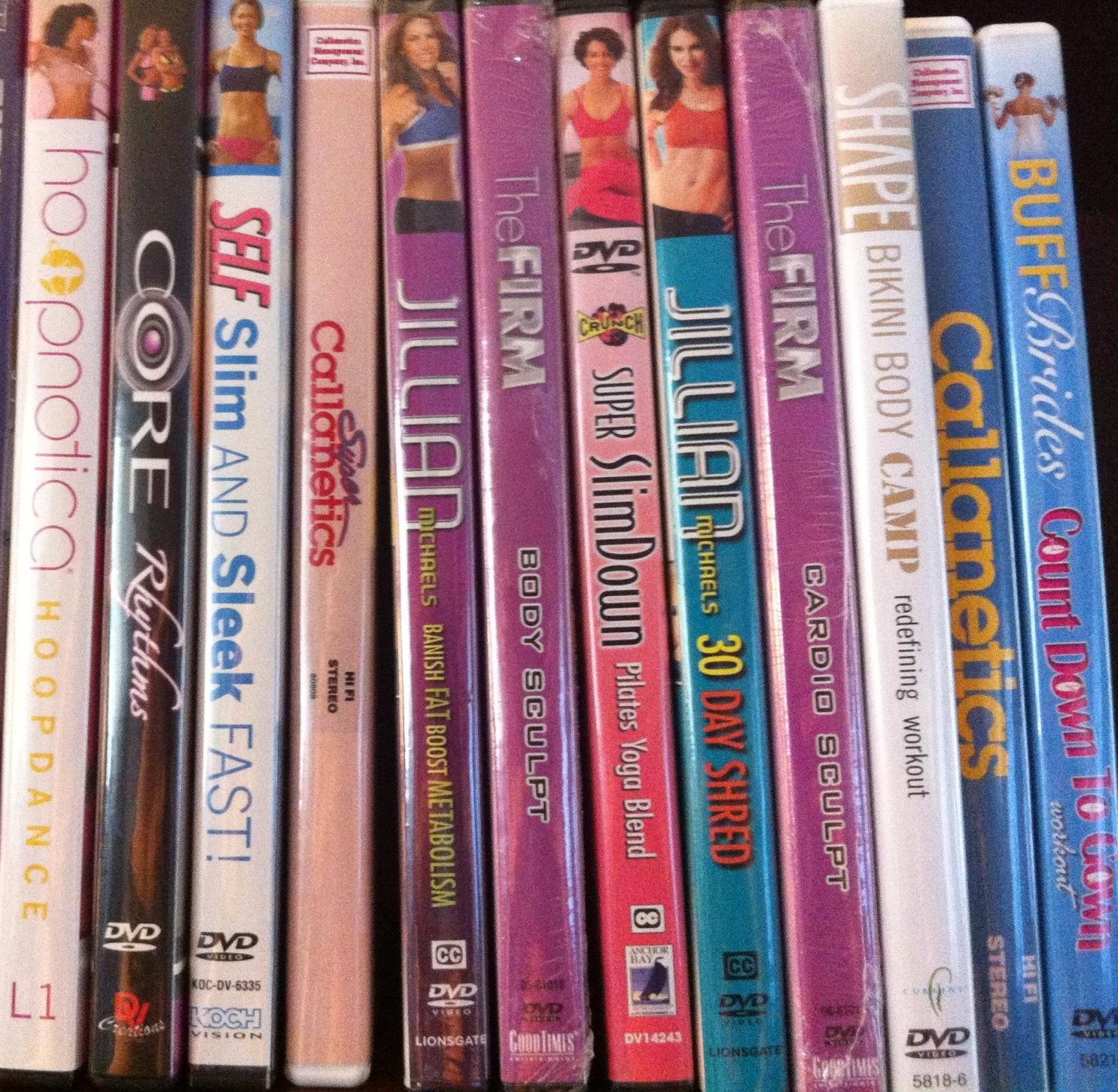Rimor vita fitness dvds for American cuisine dvd