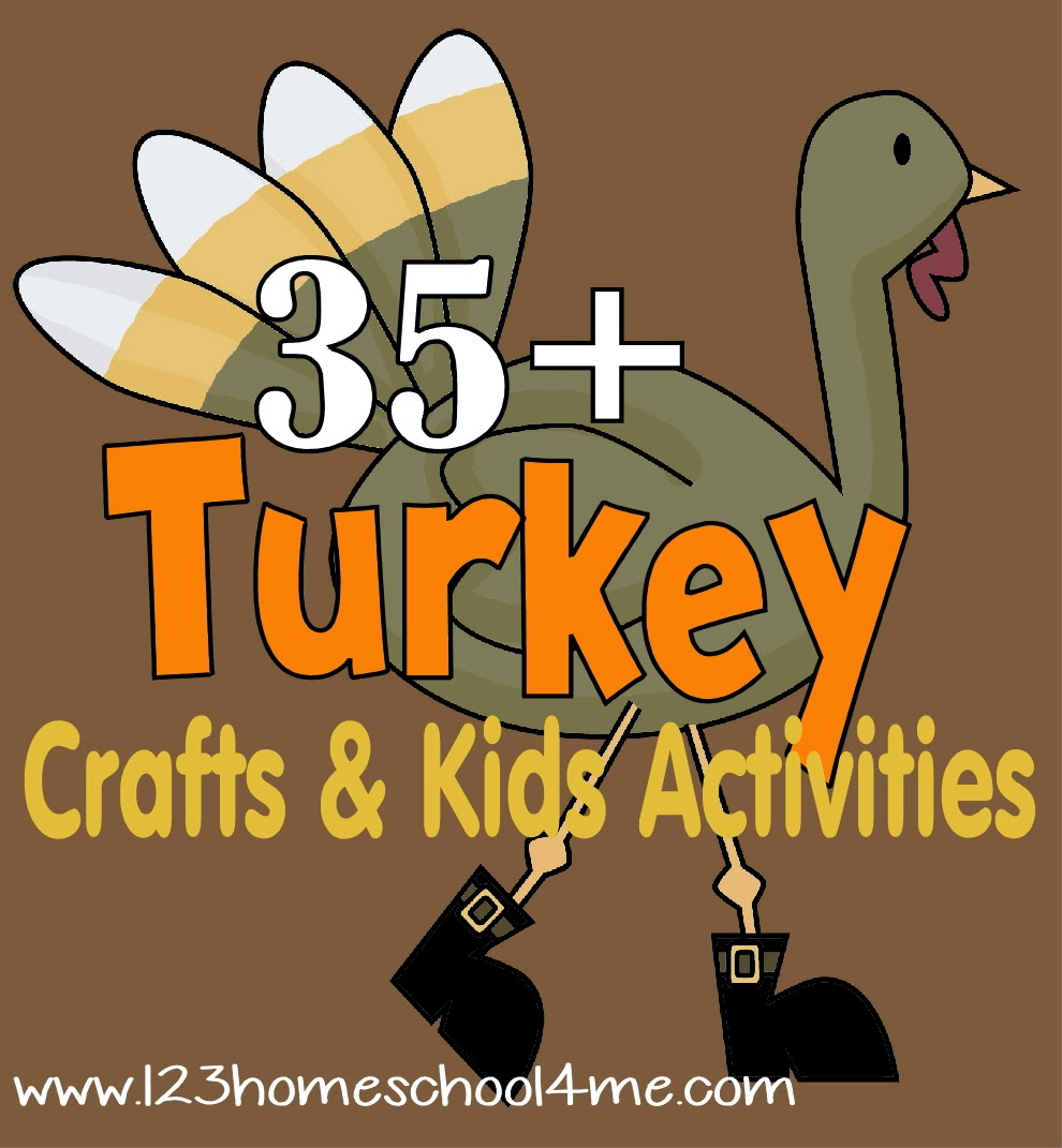 35 Turkey Crafts Kids Activities For Thanksgiving