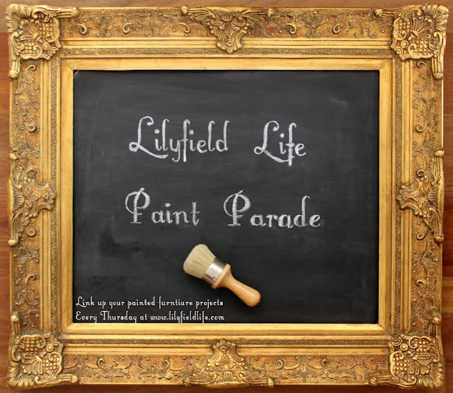 Paint Parade #4 - a furniture link party and features
