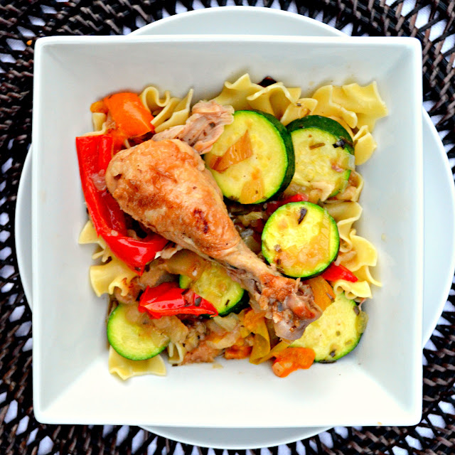 Tarragon-Chicken-With-Fennel-And-Zucchini