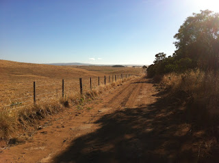 Dirt road South Australia