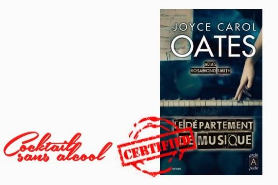 Le Département de Musique Joyce Carol Oates critique