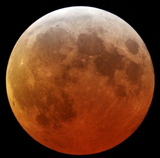 el planeta marte es rojo: