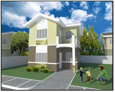 Callia Unit Two Storey Single Detached House and Lot for Sale Marigondon Mactan Cebu 4BR