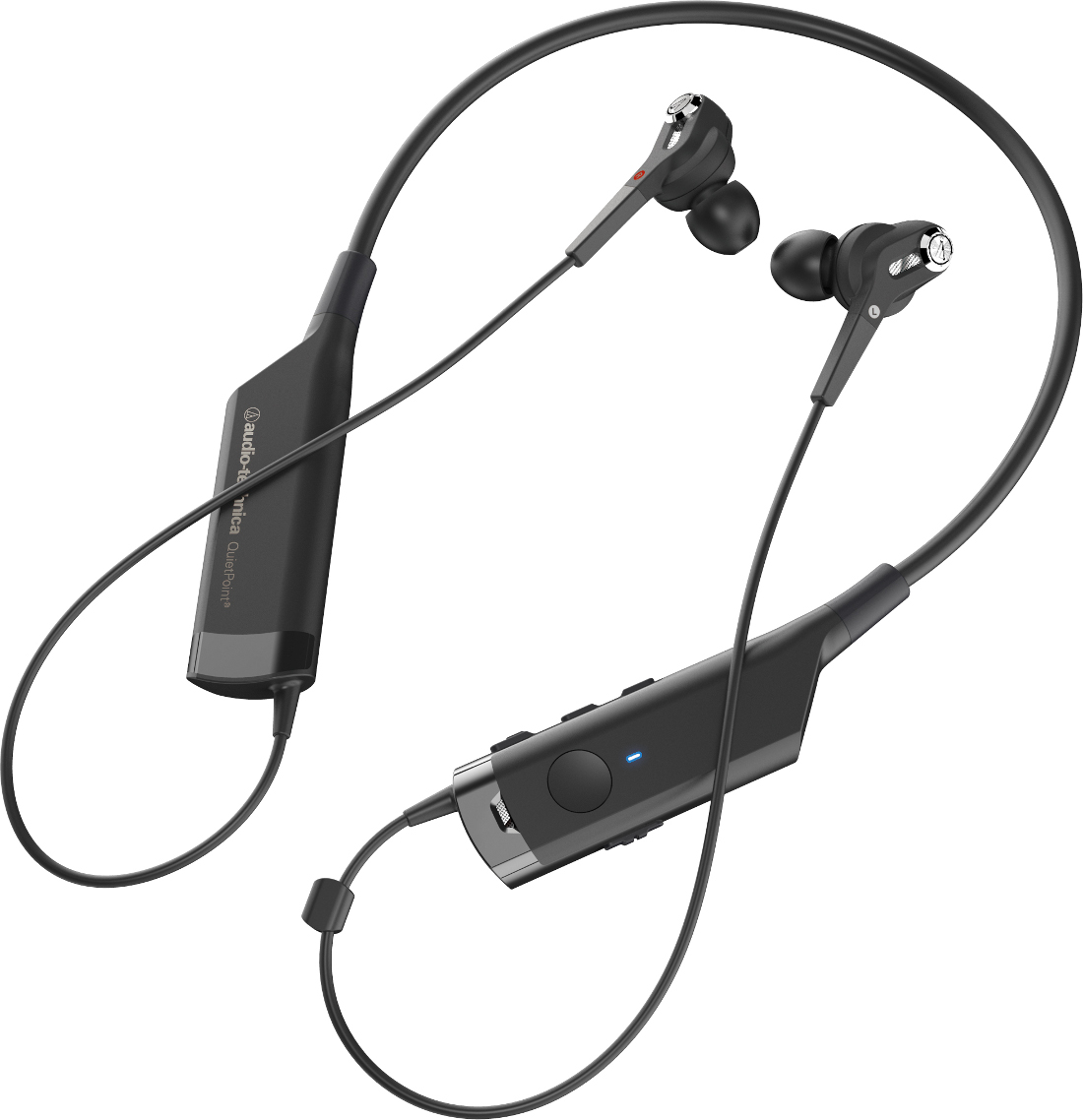 ATH-ANC40BT In-Ear Bluetooth Kopförer mit aktivem Noise-Cancelling