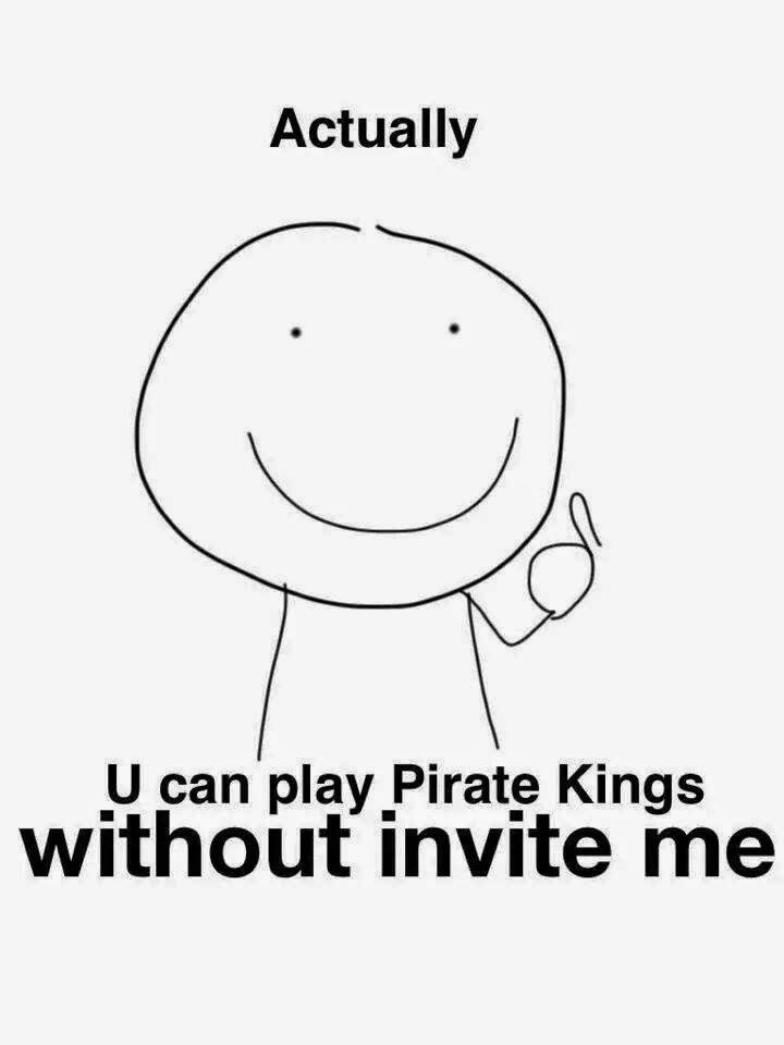 Actually you can play games without inviting me! :)