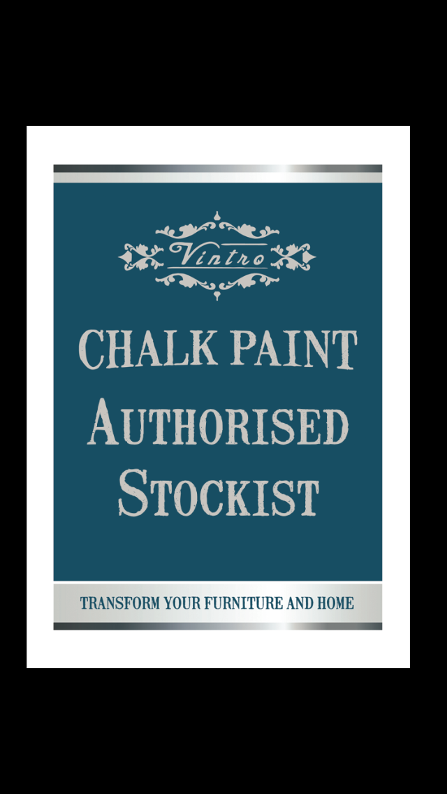 Vintro Chalk Paint Authorised Stockist