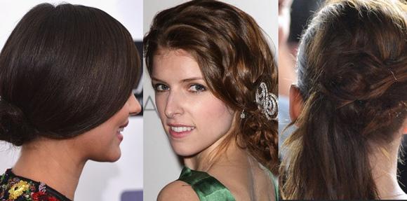 Estilos de cabelos femininos como cortes com rabo de cavalo jogado de lado