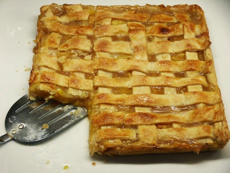 Moveable Feasts: Peach Slab Pie