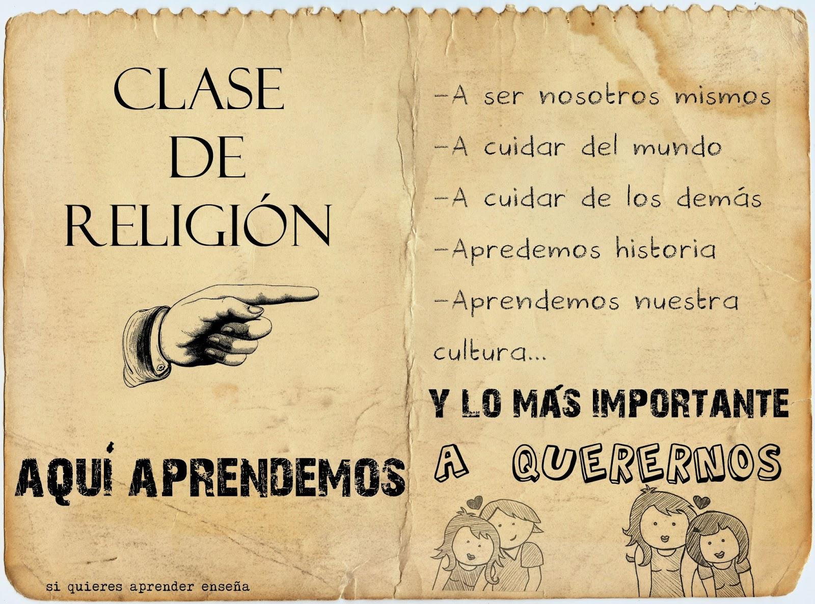 Clase de Religión