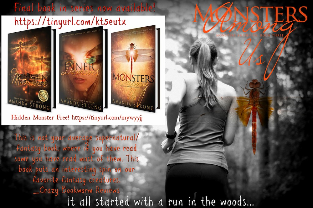 Monsters Among Us Book Blitz