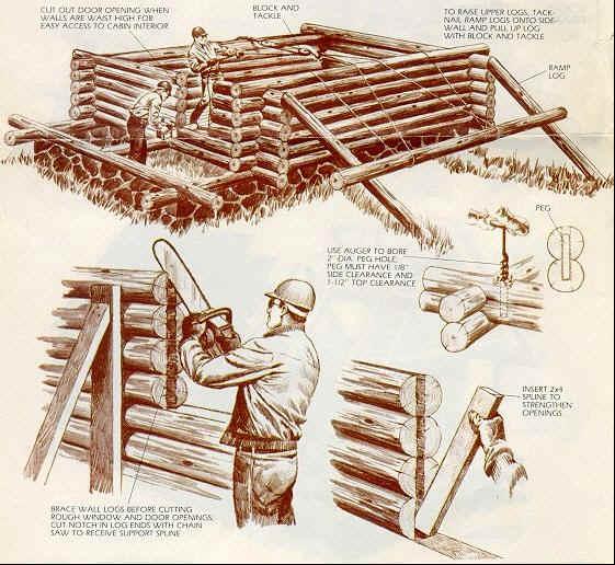 Calais Road Build Your Own Log Cabin