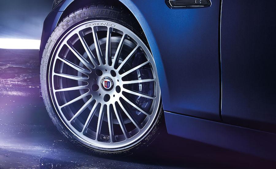 BMWアルピナが創立50周年記念の特別仕様車「EDITION50」を発表 ホイール