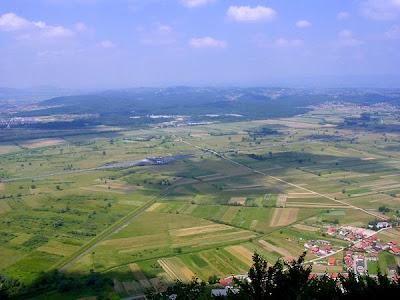 Pogled na Zagorje iz Kamenih Svata