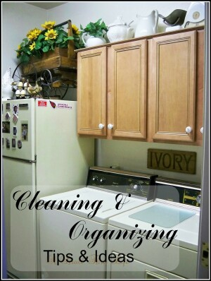 Cleaning & Organizing Tips & Ideas