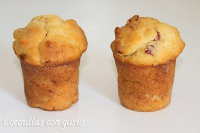 muffins de bacon