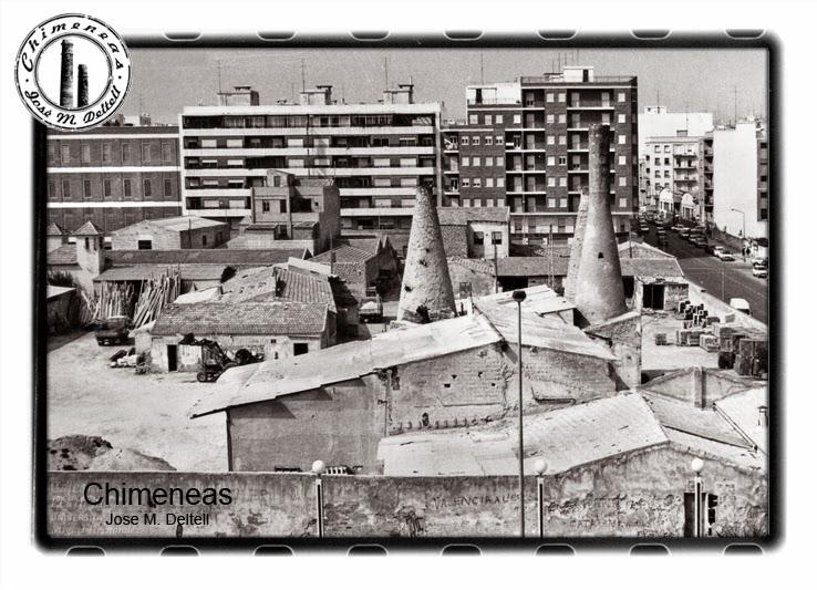 Jose m deltell fotografias antiguas chimeneas hornos de - Chimeneas en alicante ...