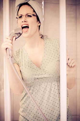 пея в банята