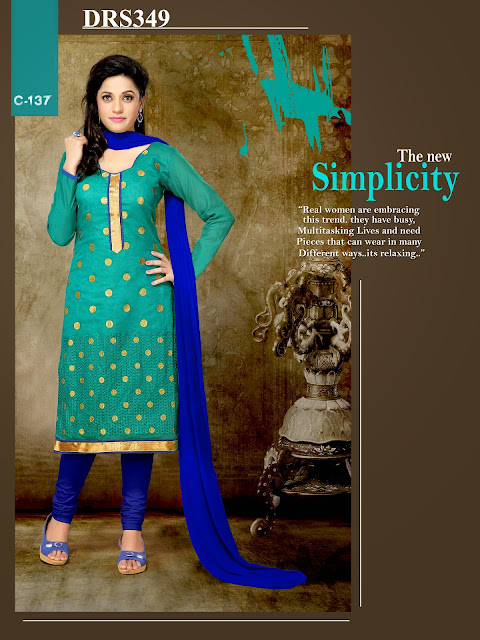 New Arrival Chanderi Cotton Dress Material – Exporter