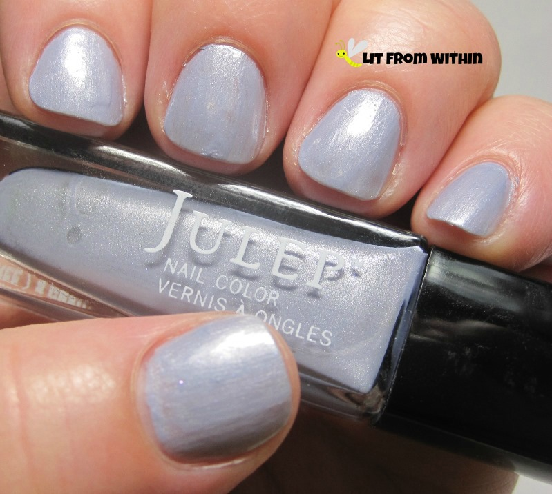 Julep Joanna, a frosty, icy blue