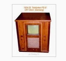 Sejarah TV elektronik