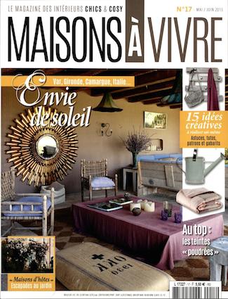 Presse e magdeco magazine de d coration - Maison a vivre magazine ...