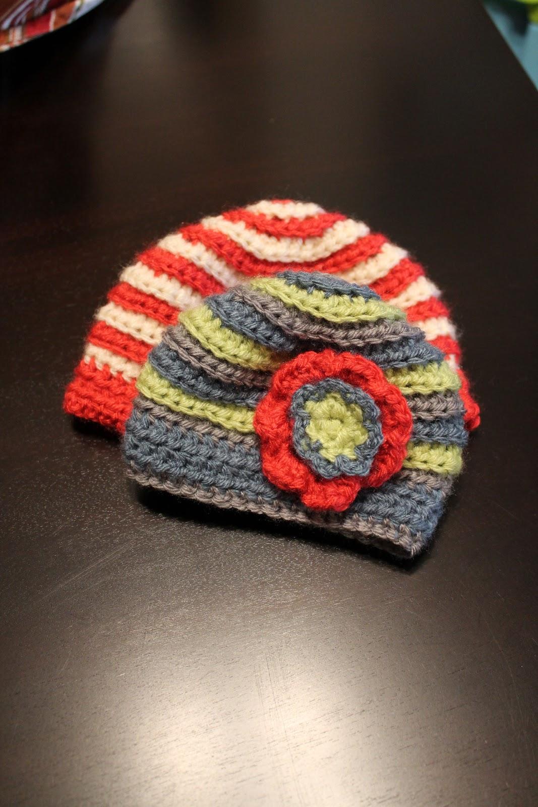 Handmade By Erica: Baby Ripple Hat
