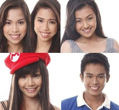 PBB Teen Edition 4 Big 4 - Joj and Jai, Karen, Myrtle and Roy
