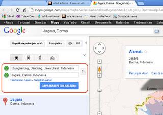 Gambar. 2 Google Maps Jagara, Darma-2