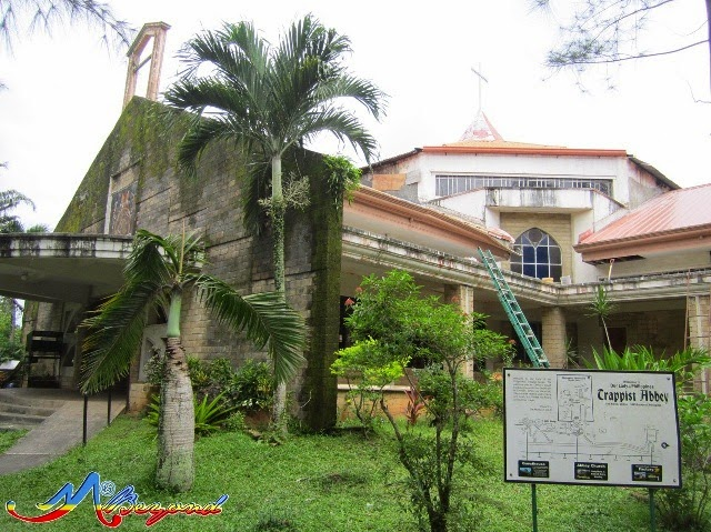 trappist abbey, guimaras monastery, what to do in guimaras, guimaras tourist attractions, guimars tourist spots