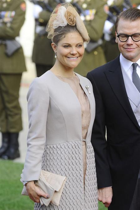 invitada boda otoño victoria suecia