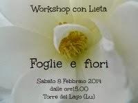 Workshop Foglie e fiori