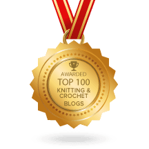 Named one of the Top 100 knitting blogs