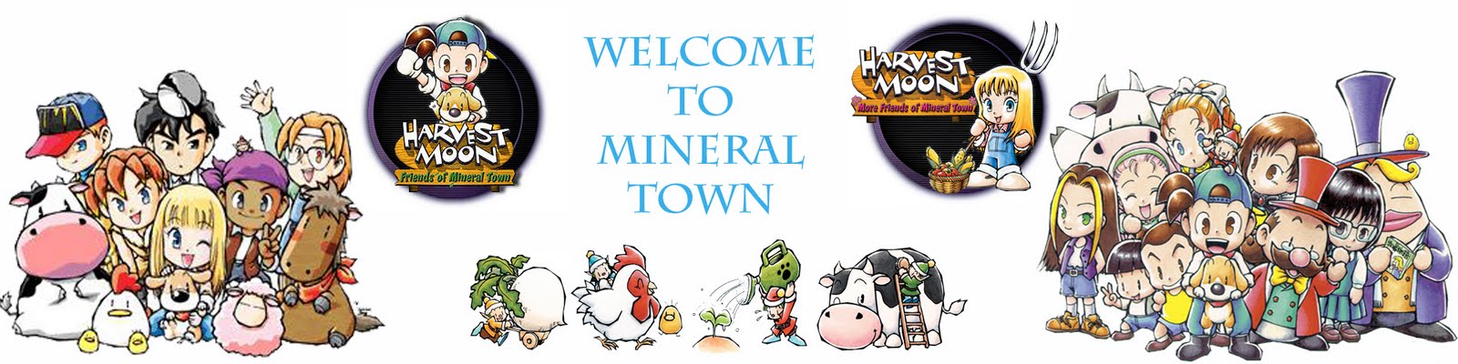Harvest Moon : Mineral Town Guide