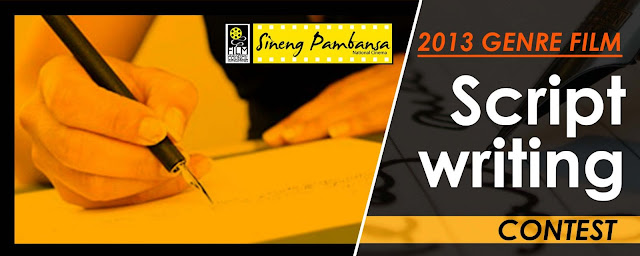 The Sineng Pambansa Genre Film Scriptwriting Competition 2013