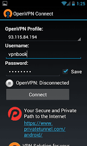Aplikasi Internet gratis android Open Vpn