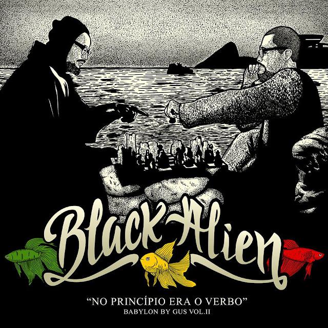 Black Alien divulga capa de seu novo album