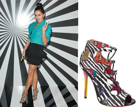 Bip Ling in Jimmy Choo heels