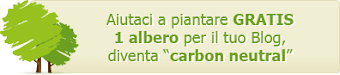 IL MIO BLOG E'CARBON NEUTRAL