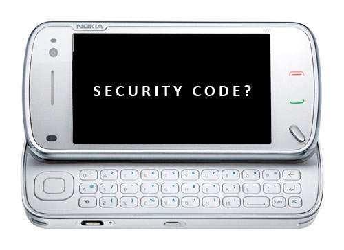 Nokia N97 Security Code