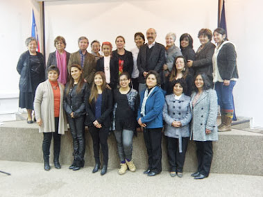 Parte de las alumnas del taller FONDART 2013