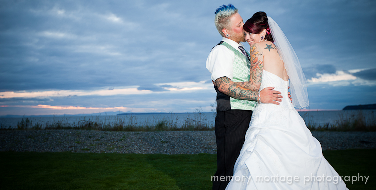 Semiahmoo wedding blaine wa