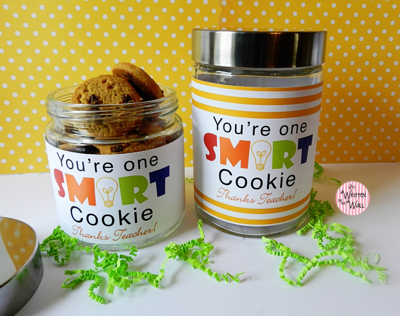You're One Smart Cookie-Teacher Appreciation Gift Ideas