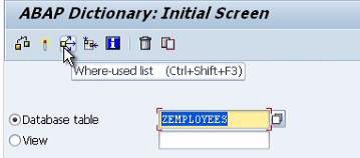 Deleting Tables SAP TABLES