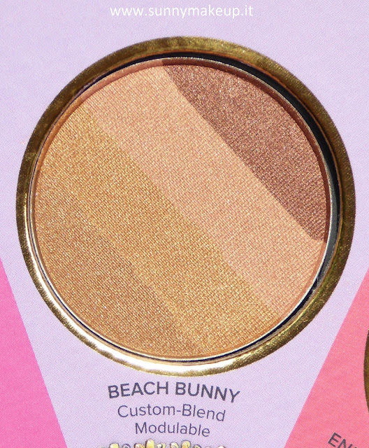 Too Faced - The Little Black Book di Bronzer. Beach Bunny.