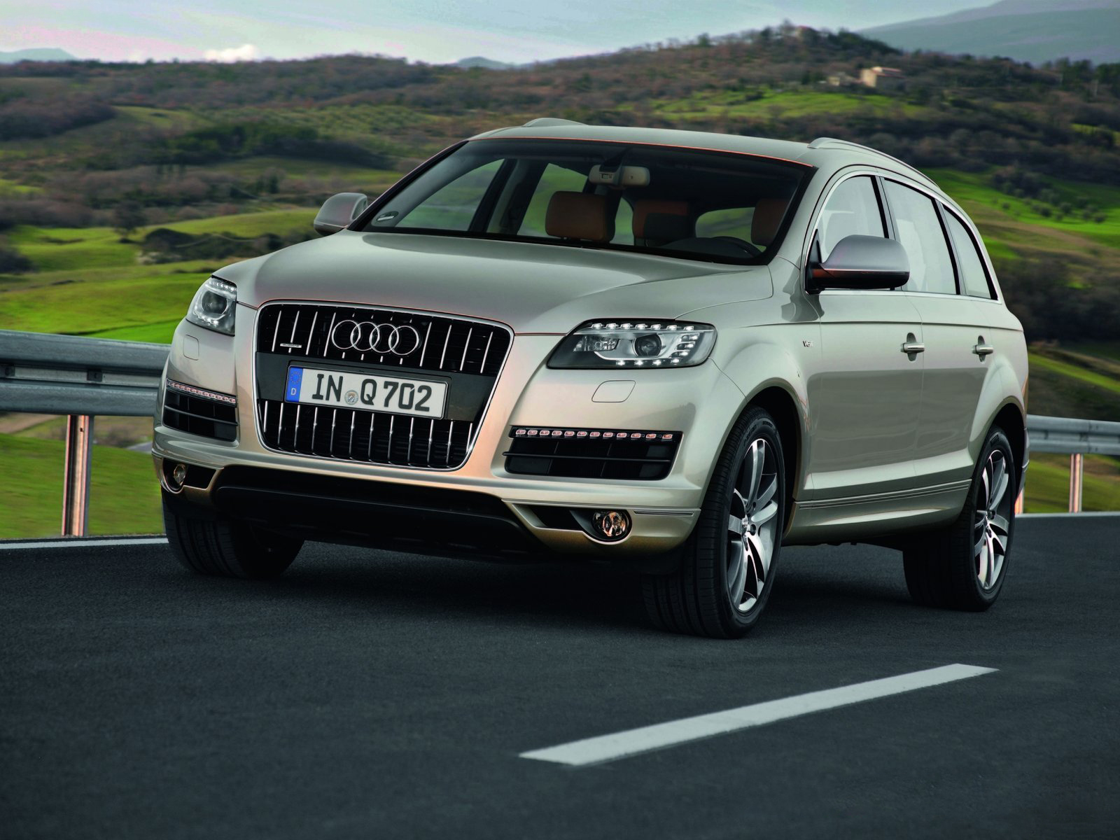 The audi q7 is a full size luxury crossover suv unveiled in september 2005 at the frankfurt motor show production of the q7 began in autumn of 2005 at the