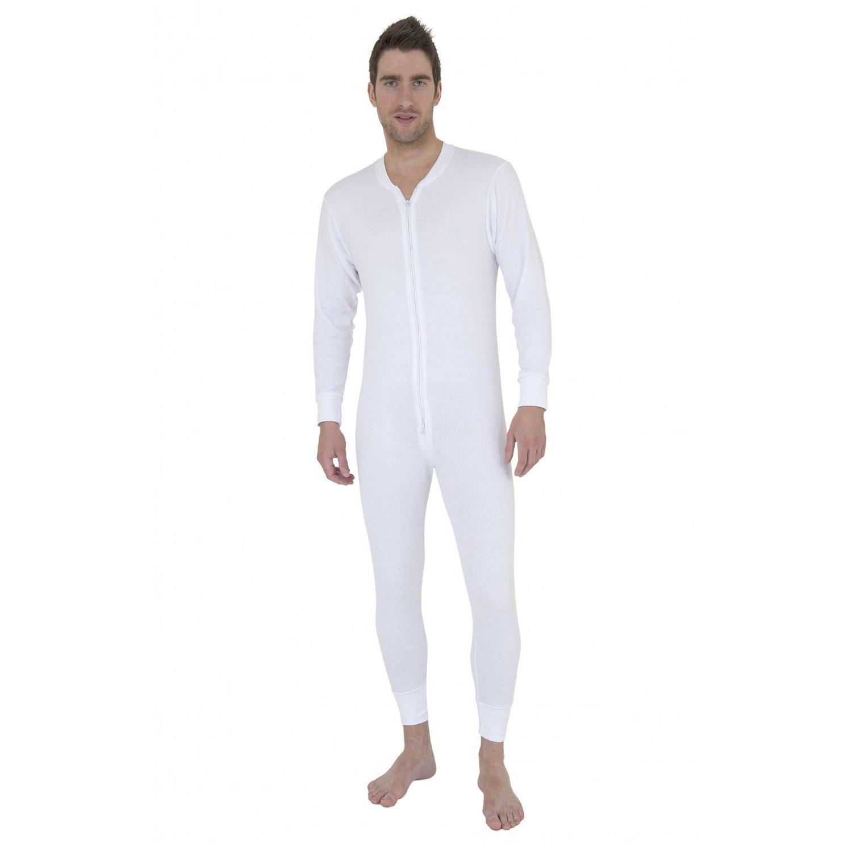 WearForMen: Mens Thermal Underwear All In One Union Suit
